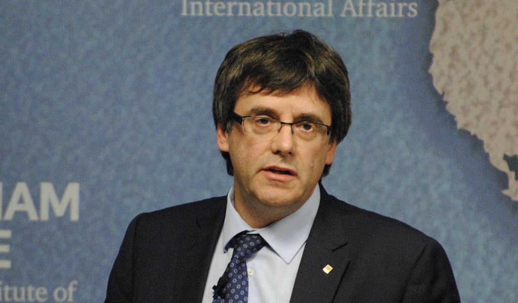 Nueva orden de detención contra el líder catalán Puigdemont