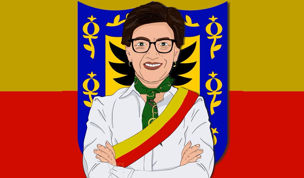 Claudia López, la nueva alcaldesa de Bogotá