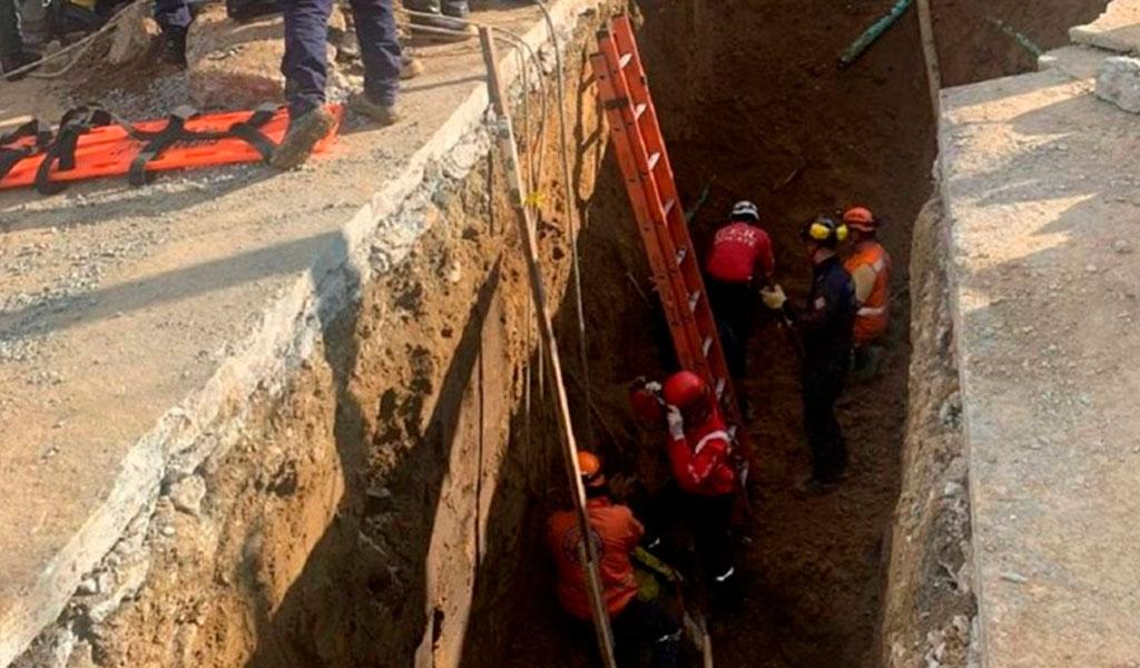 Obreros de Manizales quedan sepultados tras deslizamiento