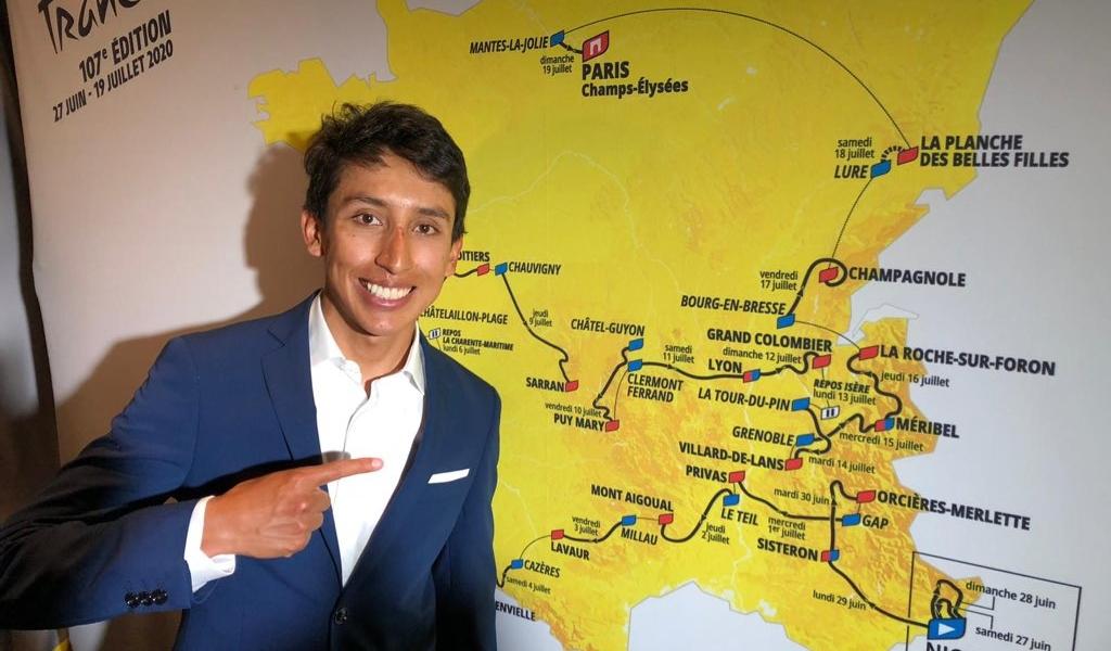 ¿Egan Bernal para el Tour de Francia 2020?