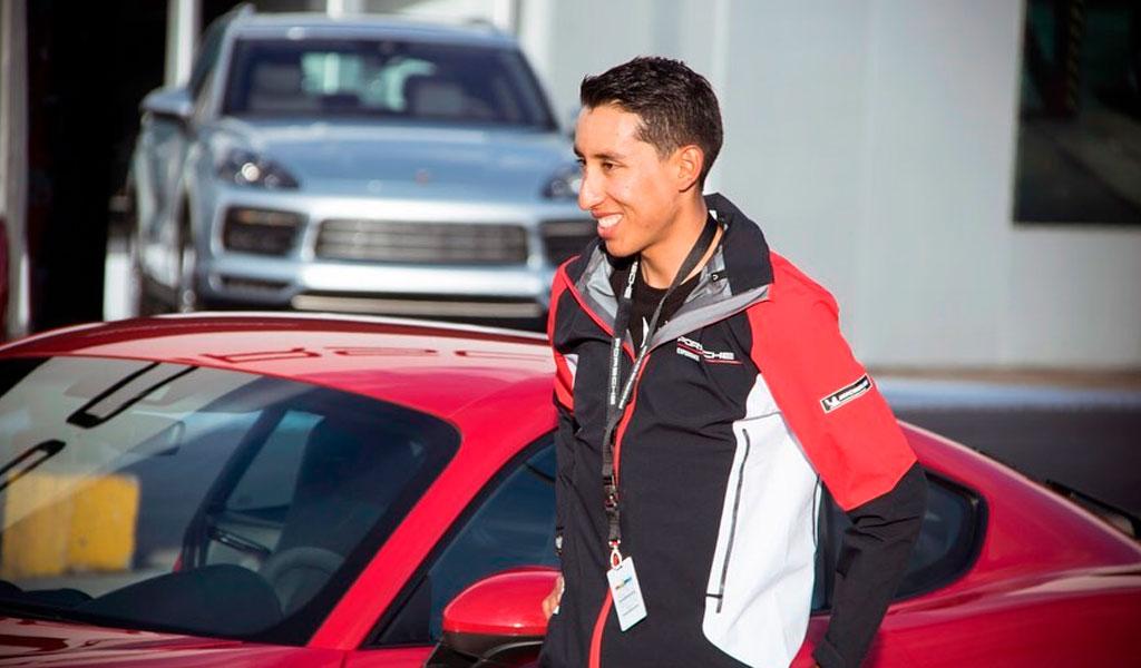 Egan Bernal será embajador de reconocida marca de carros