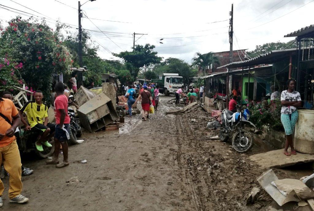 Anuncian recursos para emergencia en Apartadó