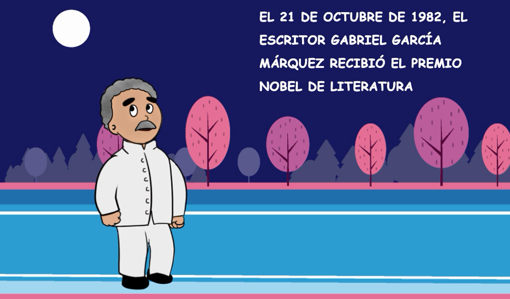 Un día como hoy, Gabo se convirtió en Nobel de Literatura
