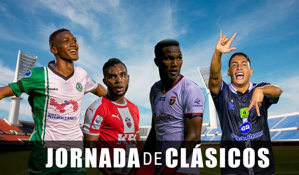 Partidos de la fecha 13 en la Liga Panameña
