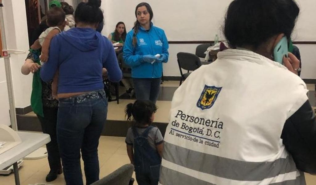 Alcaldía de Bogotá en contra de la mendicidad infantil