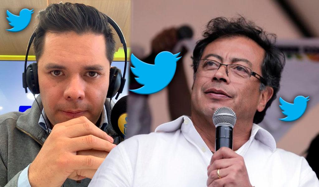 Luis Carlos Vélez respondió a crítica de Gustavo Petro