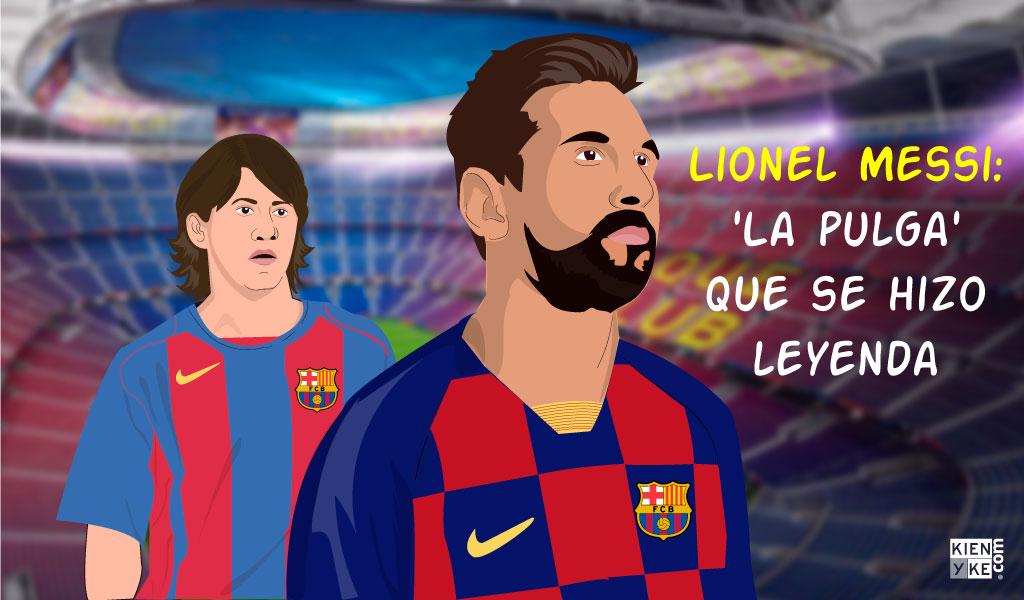 Lionel Messi: 'La pulga' que se hizo leyenda