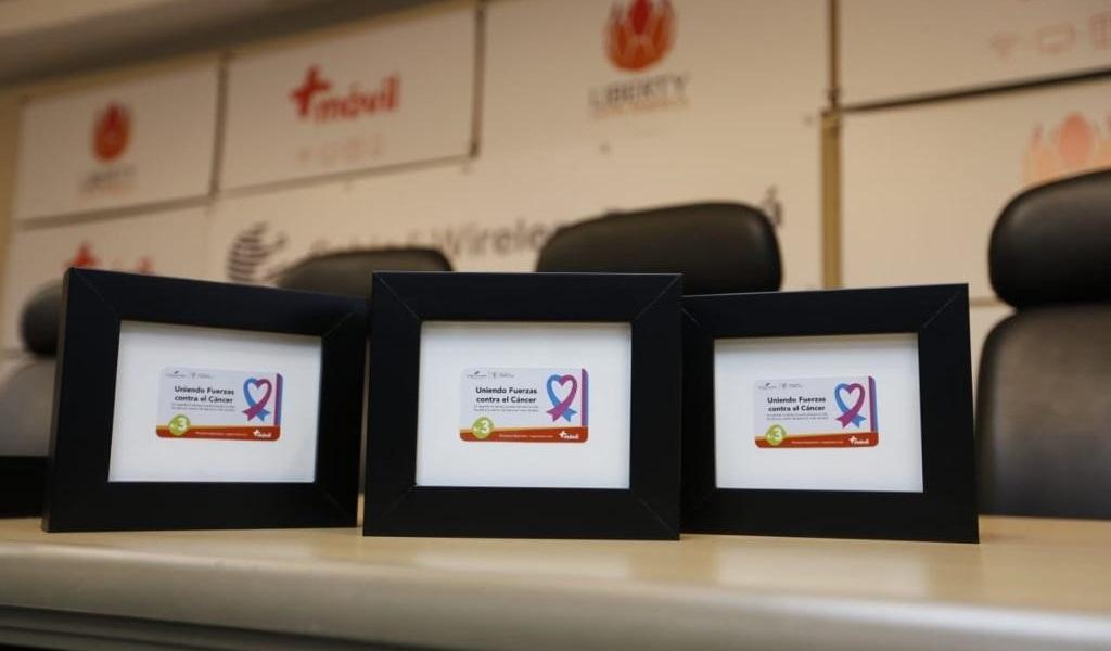 Primera dama de Panamá en campaña contra el cáncer