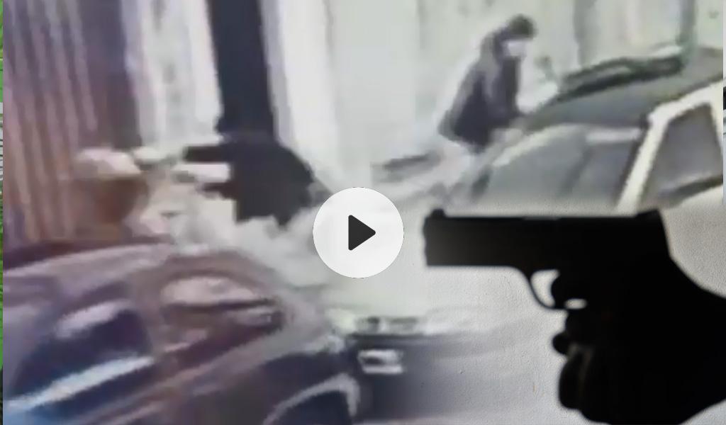 Le robaron el arma a un policía y le dispararon en la cabeza