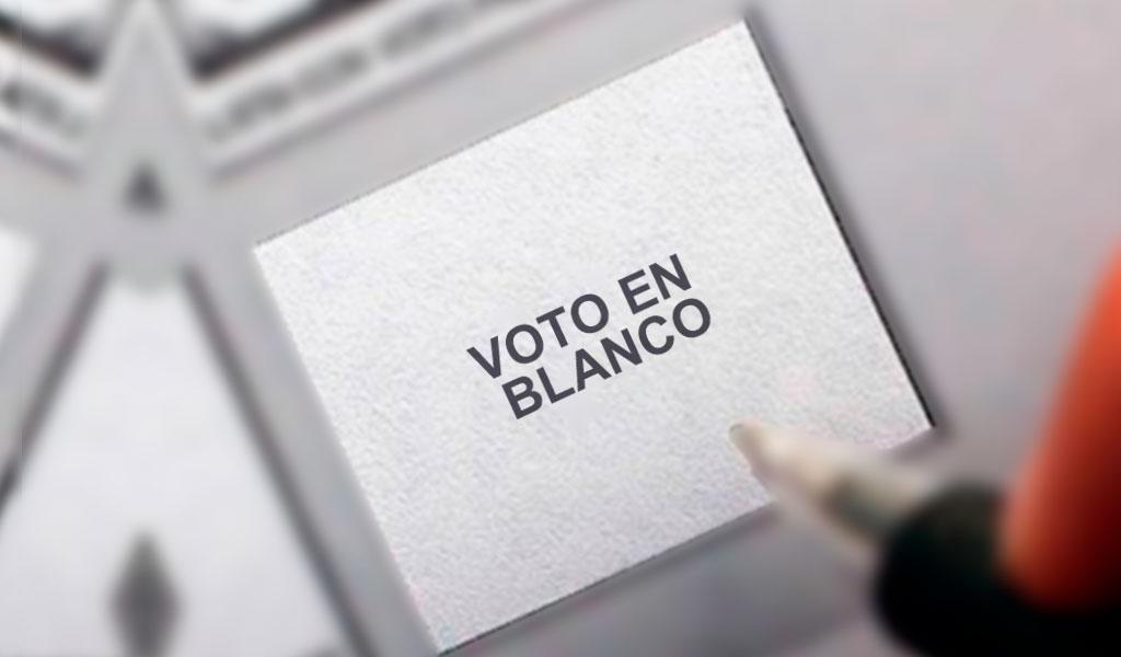 Mitos y realidades del voto en blanco