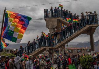 Caos en Bolivia incita reaparición de tensiones étnicas