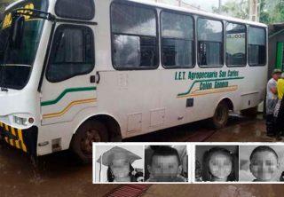 Cuatro niño murieron en accidente de tránsito en Nariño