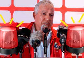 Duro momento de Gallego con la Selección de Panamá