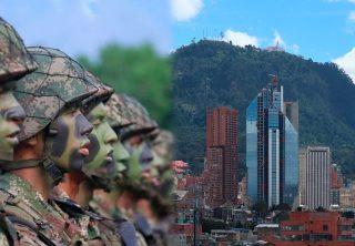 """""""No se ha ordenado la militarización de Bogotá: MinDefensa"""