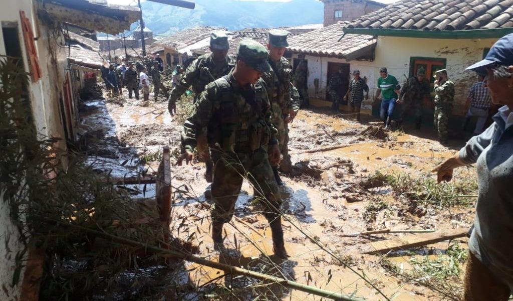 Jericó, en calamidad pública tras avalancha