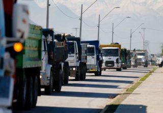EN VIVO: Transportadores bloquean vías en Bogotá