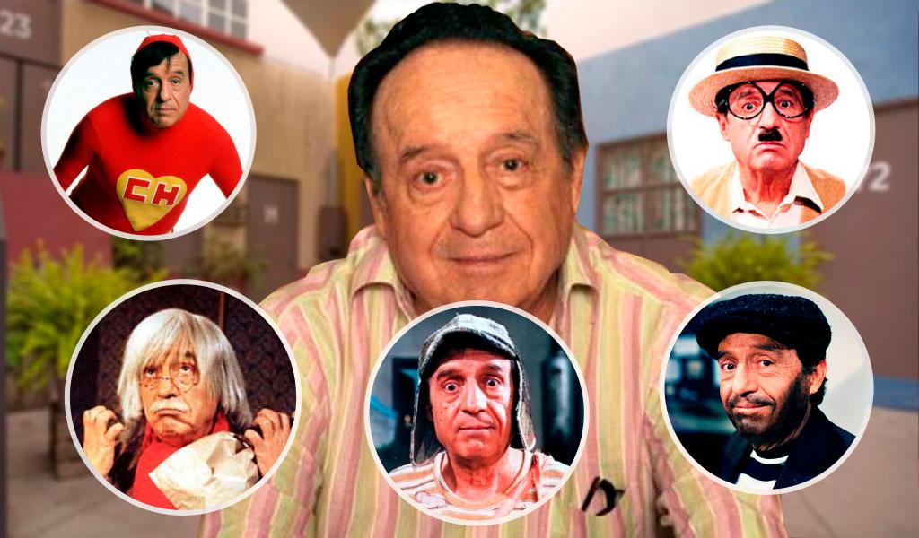 Grandes personajes de 'Chespirito'