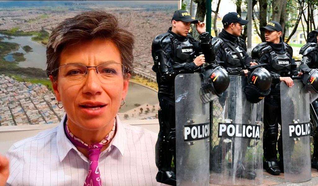 Claudia López apoya una reforma al Esmad