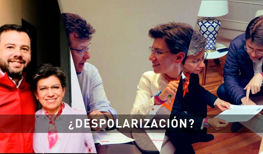 Claudia López y una Bogotá despolarizada