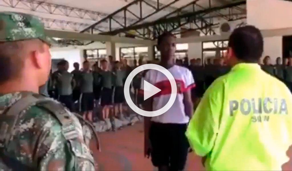 Por agresión militar capturaron al soldado: Ejército
