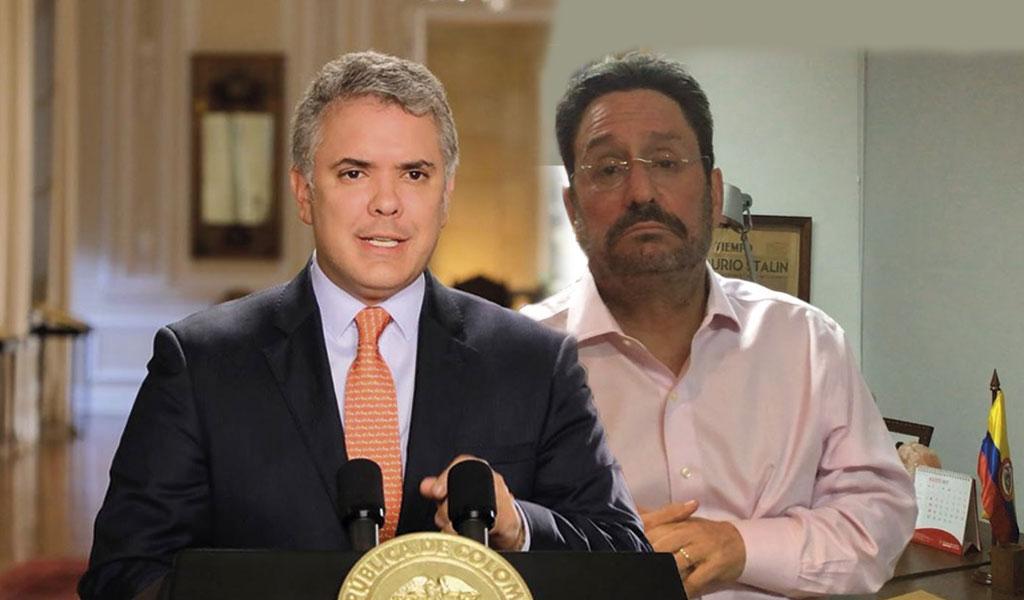 Duque pide que Francisco Santos venga a Colombia