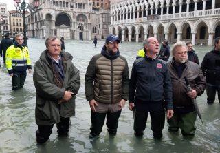 Declaran estado de emergencia por inundación en Venecia