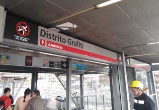 Distrito Grafiti, el nuevo nombre de una estación