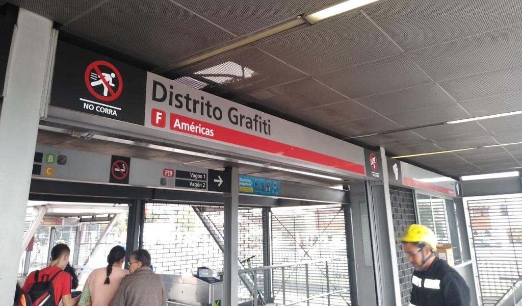 estación, Distrito Grafiti, cultura, grafitis en Bogotá, Puente Aranda