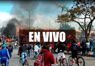 EN VIVO: Fuertes enfrentamientos en el sur de Bogotá
