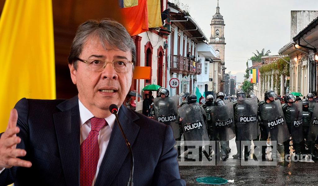 """""""El Esmad seguirá garantizando la seguridad"""": Mindefensa"""