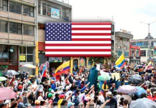 EE. UU. resaltó manifestación pacífica del paro nacional