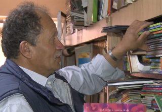 El 'Señor de los libros' de Bogotá