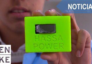 Estudiantes crean cargador portátil con baterías desechables