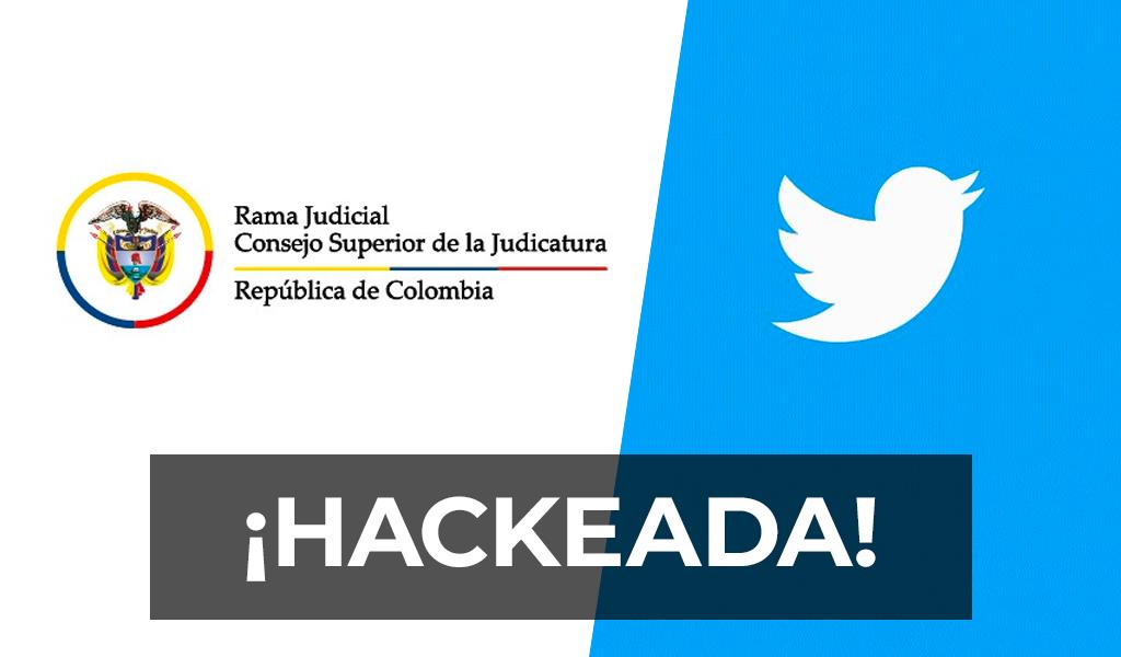 Hackean el Twitter de la Judicatura y amenazan a Duque