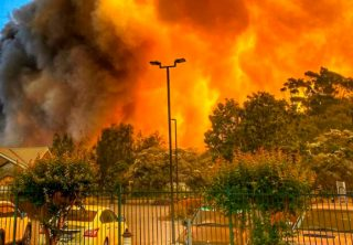 Australia y uno de los peores incendios forestales