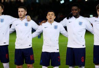 Futbolista colombiano se luce con la Selección de Inglaterra