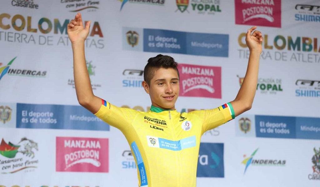 Jéfferson Ruiz, Vuelta del Porvenir
