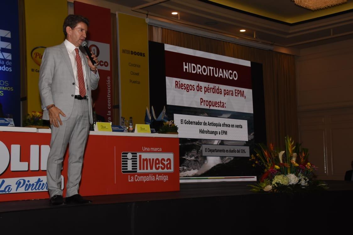 La propuesta sobre Hidroituango que hizo Luis Pérez