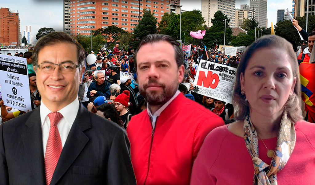 Reacciones políticas al Paro Nacional 21N