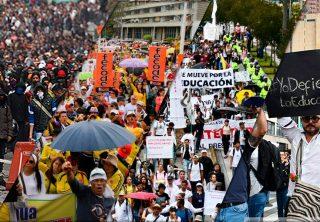Paros en Colombia, un recuento de los últimos 10 años