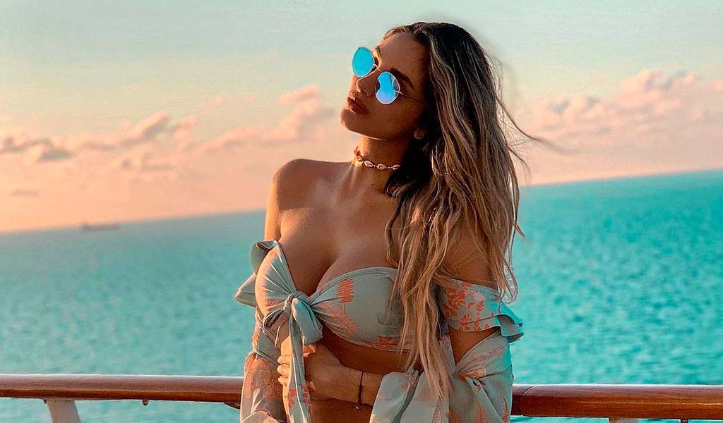 Melina Ramírez lució bikini tras el nacimiento de su hijo