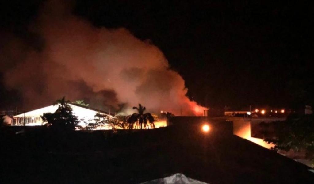 Cae presunto responsable de incendio en Alcaldía de Nechí