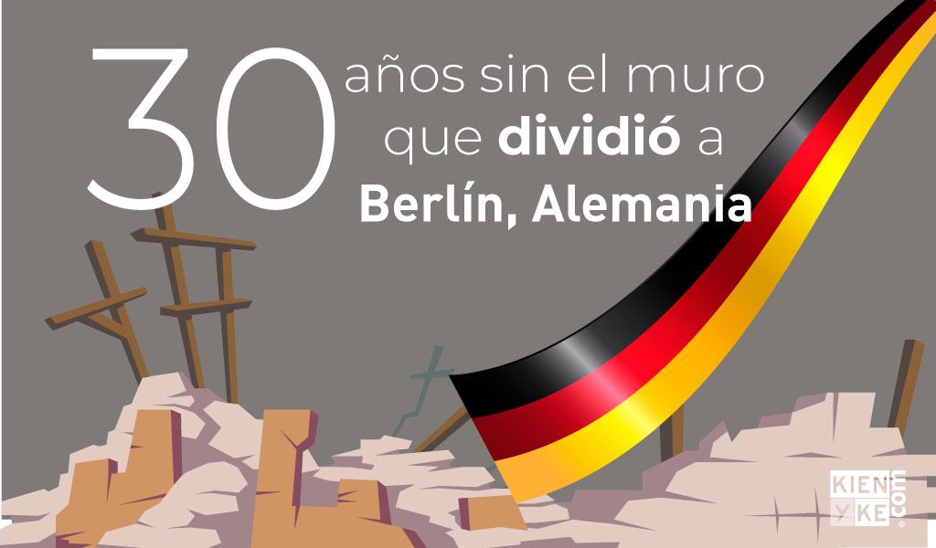 30 años sin el muro que dividió a Berlín, Alemania