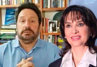 Polémica conversación entre Pacho Santos y Claudia Blum