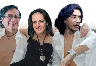 Gustavo Petro retó a Maria Fernanda Cabal a desnudarse
