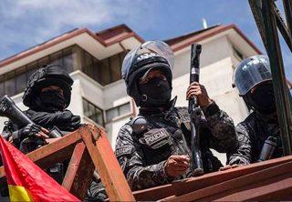 CIDH rechaza violencia de militares en Bolivia