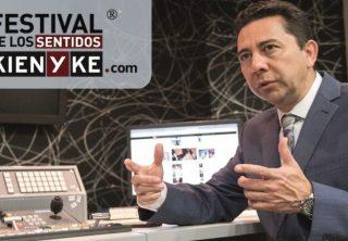 Víctor García-Perdomo, experto colombiano en el Festival de los Sentidos