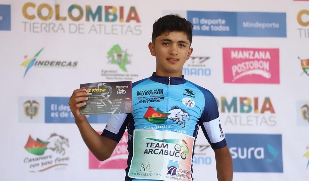 Vuelta del Porvenir, Santiago Umba