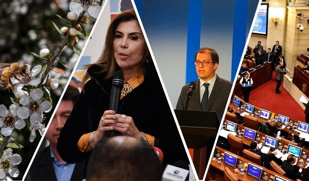 Se alista moción de censura contra MinAgricultura y Canciller
