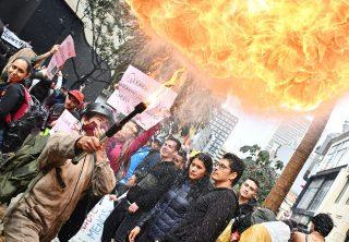 21N: marchas y cacerolazo que pasarán a la historia